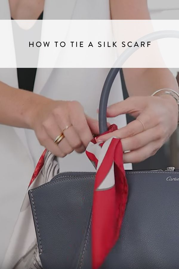 We'll show you how to tie your scarf not one but two ways.