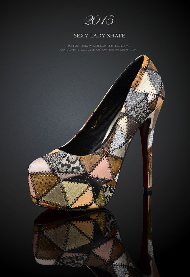Весение красные туфли цветного  новые европейские и американские кожаные туфли на заказ