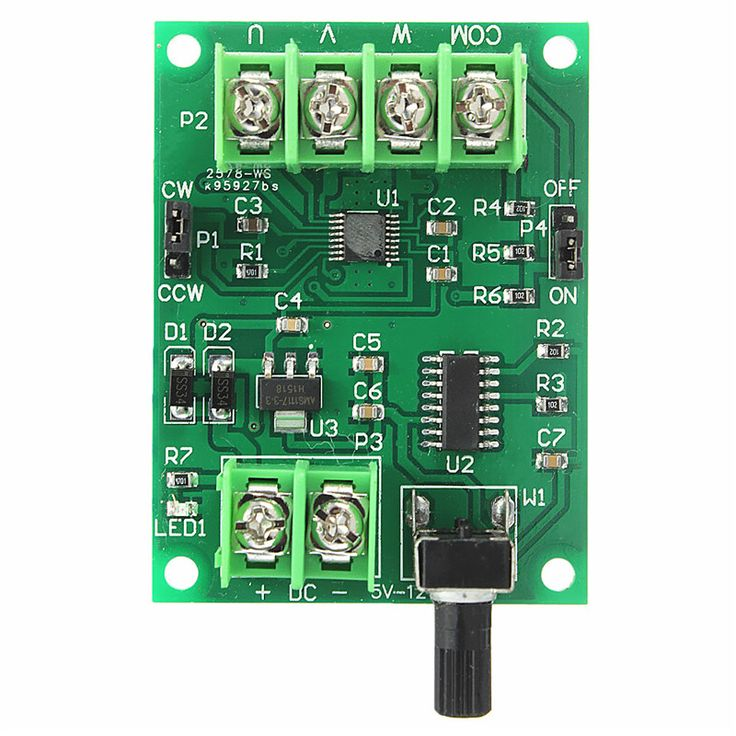 New Arrival DC 5V-12V Green Brushless Motor Board Driver Controller For Hard Drive 3/4 Wire Best Price(China (Mainland))