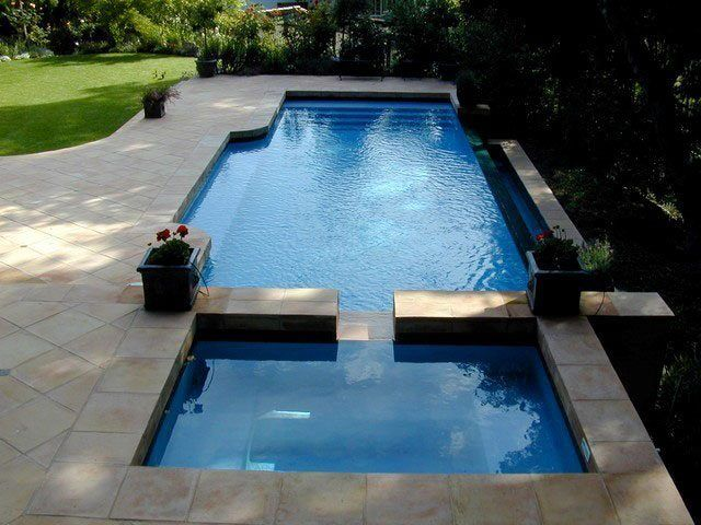 Best 25+ Modern pool and spa ideas only on Pinterest | Modern ...