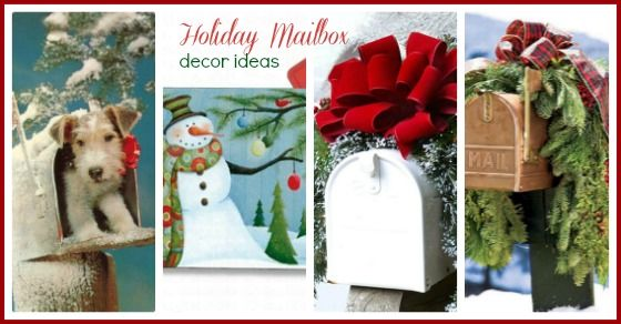 Dress Up Your Mailbox for the Holidays - Always the Holidays