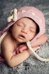 Ravelry: Erin - A vintage style #knit #baby #bonnet #pattern by Julie Taylor