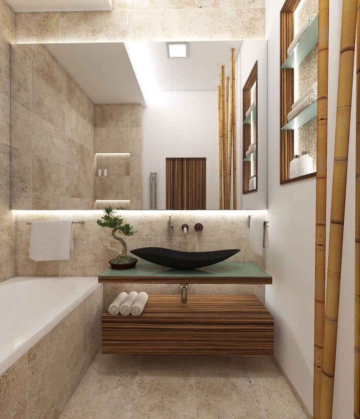 Architect Katka Petkovšek for Perfecto design: Natural bathroom FUJI