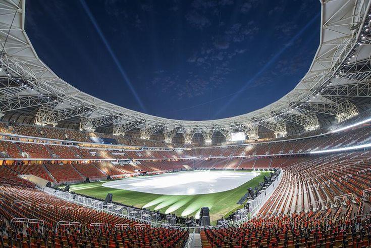 Stadion Tempat Pertandingan Sepakbola Antara Saudi VS UEA Terancam Dibom