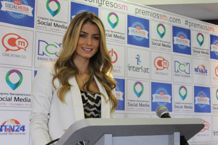 Cristina Hurtado en el Lanzamiento del II Congreso Iberoamericano de Social Media
