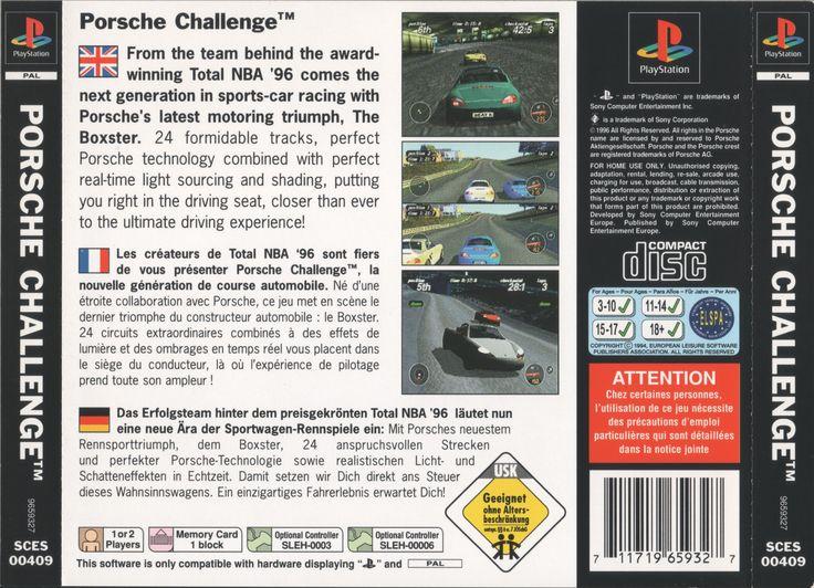 Porsche Challenge PSX cover