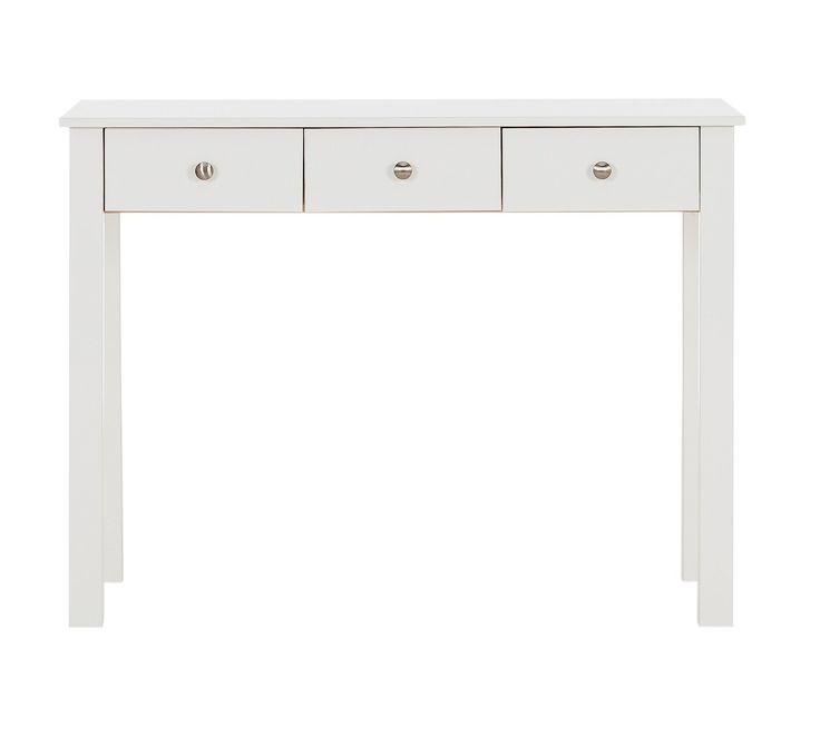 Buy Collection Osaka 3 Drawer Dressing Table - White at Argos.co.uk, visit Argos.co.uk to shop online for Dressing tables, Bedroom furniture, Home and garden