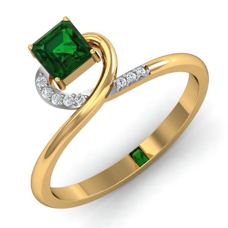 D\'amor is the best place to buy Emerald Cut Diamond Rings for your  Engagement