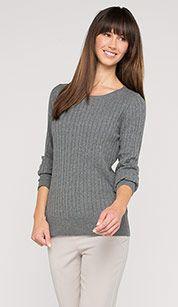 Pullovers in grijs