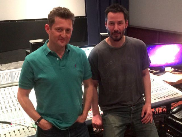 The filmmaker, Alex Winter, and its narrator, Keanu Reeves. As Ross Ulbricht Is Sentenced, documentary, 'Deep Web' Reveals Silk Road's Back Alleys