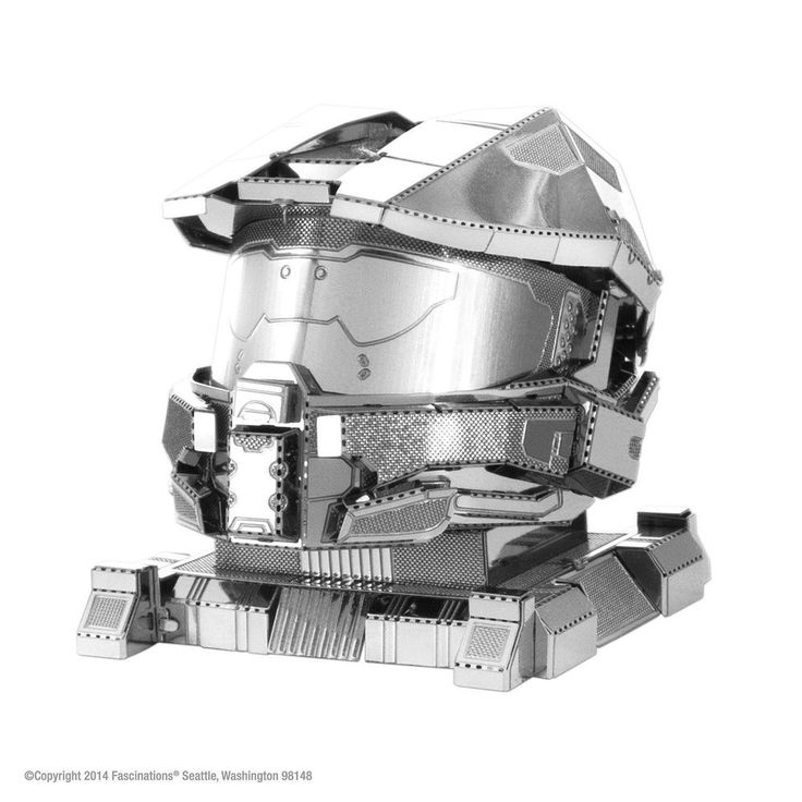 Metal Earth HALO Master Chief Helmet Laser Cut 3D Model Kit #Fascinations