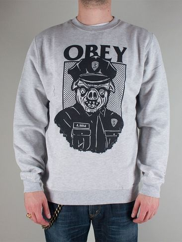 OBEY 224130248 SAUSAGE PATROL CREW Felpa Girocollo - heather grey € 65,00 - See more at: http://www.moveshop.it/ecommerce/index.php/it/articolo/57709/7910/224130248%20SAUSAGE%20PATROL%20CREW#sthash.iWVT5MlK.dpuf