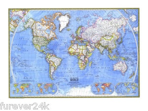 Best Estate Sale Guide National Geographics Images On Pinterest - National geographic world maps for sale