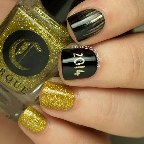 New Years Nail Polish: 17 Best Ideas About New Years Eve Nails On Pinterest