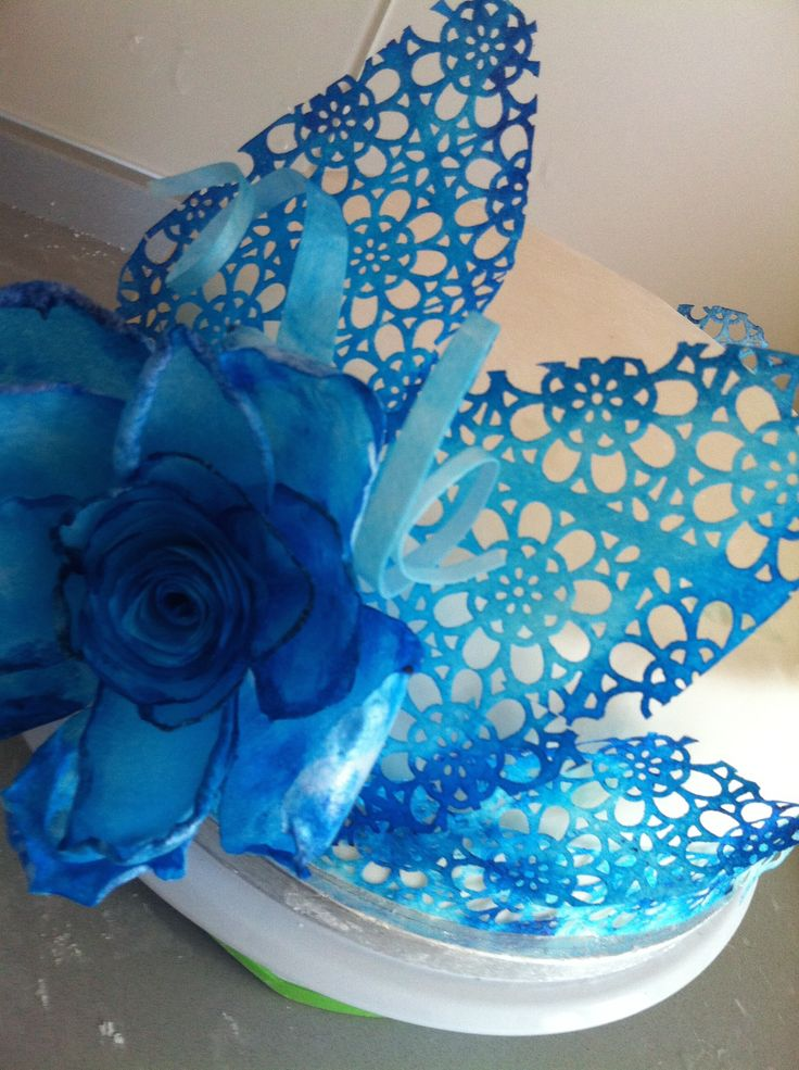 wafer paper flower, luicia simian inspiration