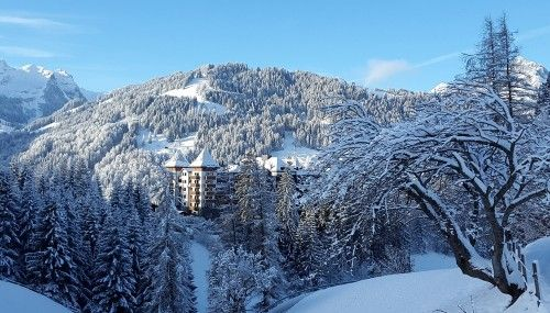 Alpina Gstaad, Gstaad, Switzerland   10 Luxury Hotels with World-Class Art Collections