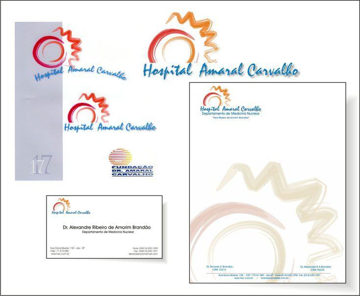 Logo do Hospital amaral carvalho no ano 2.000