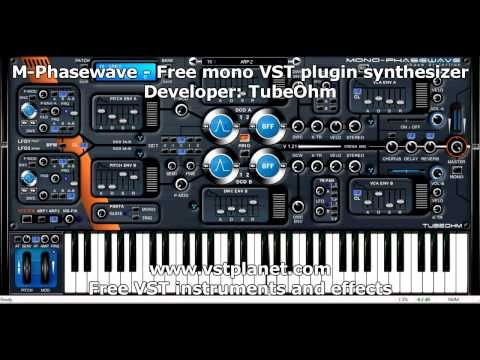 M-Phasewave - Free mono VST plugin synthesizer - vstplanet com