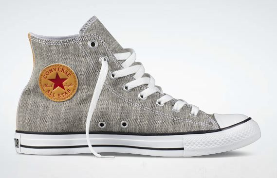 Converse Chuck Taylor All-Star Hi Chambray, Amazing For The Groomsmen ❤️