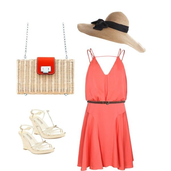 Cruise outfit with Tiffany Blaine Clutch