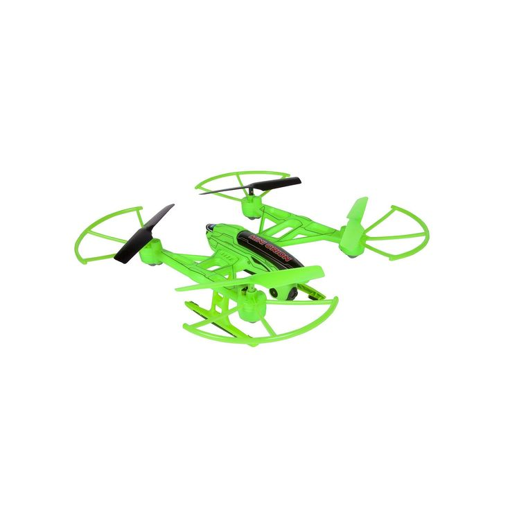 Mini Orion Spy Drone 2.4GHz 4.5CH Quadcopter Camera Drone by World Tech Toys, Green, Durable