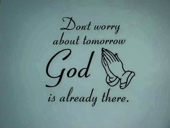 Don T Worry About Tomorrow Bible Quote: 154 Best Faith-Full Thoughts Images On Pinterest
