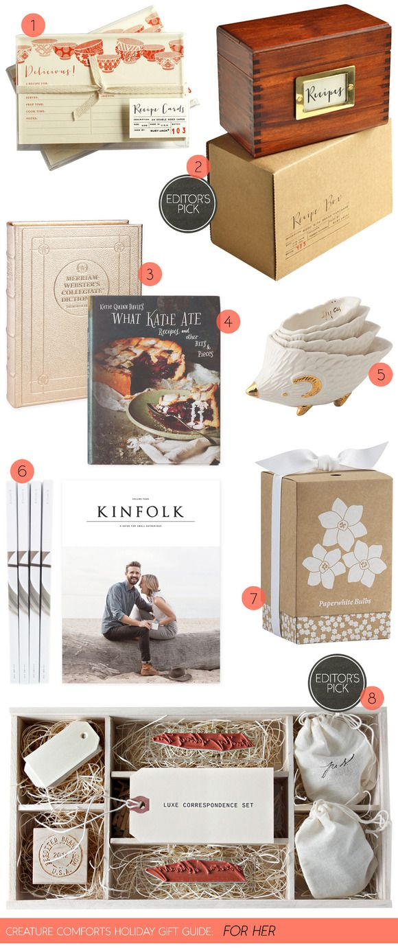 Christmas Gifts For Cooks Part - 22: Creature Comforts Holiday Gift Guide: For Her | Find Links For All Items On  Creature