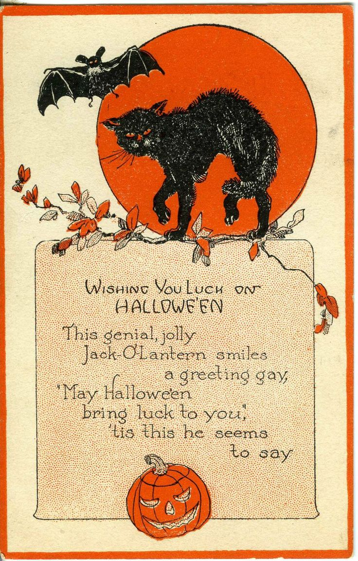 702 Best Vintage Halloween Images On Pinterest