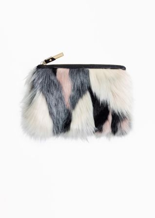& Other Stories | Faux Fur Purse