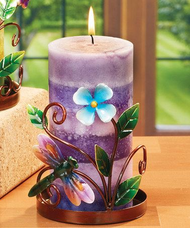 Take a look at this Dragonfly Candleholder by DECO BREEZE on #zulily today!