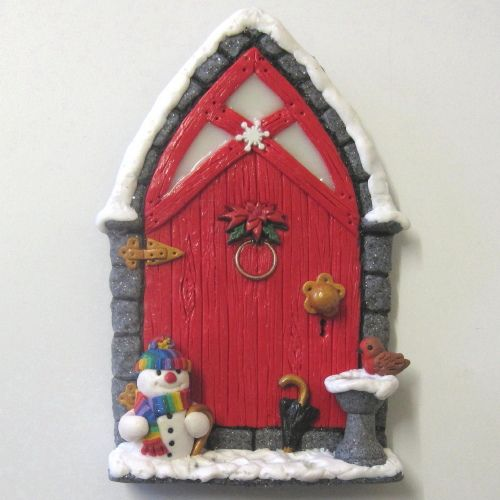 Christmas Fairy Door 2011 by PatsParaphernalia, via Flickr