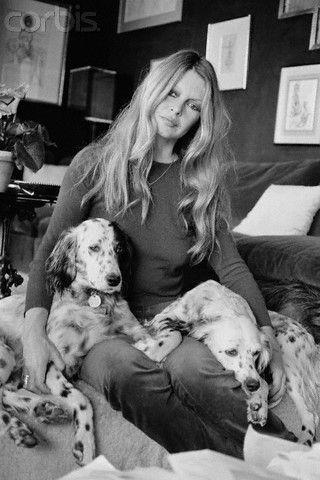 Brigitte Bardot and animals (photo): Dog / Brigitte Bardot & animals…