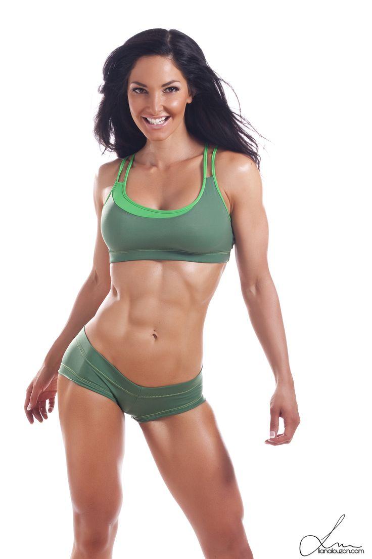 female fitness models hot