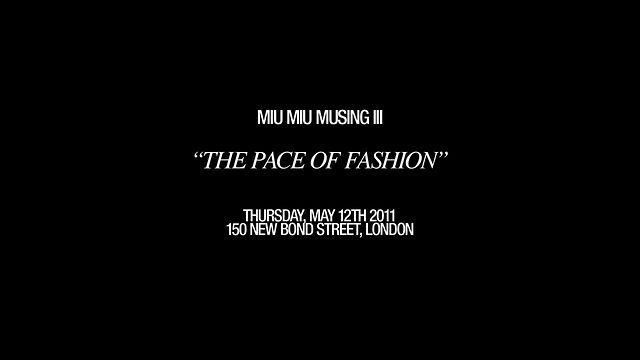 MIU MIU MUSINGS by Lulix Films #Menswear, #fashion, #london, #womenswear, #fashion, #style, #behindthescenes