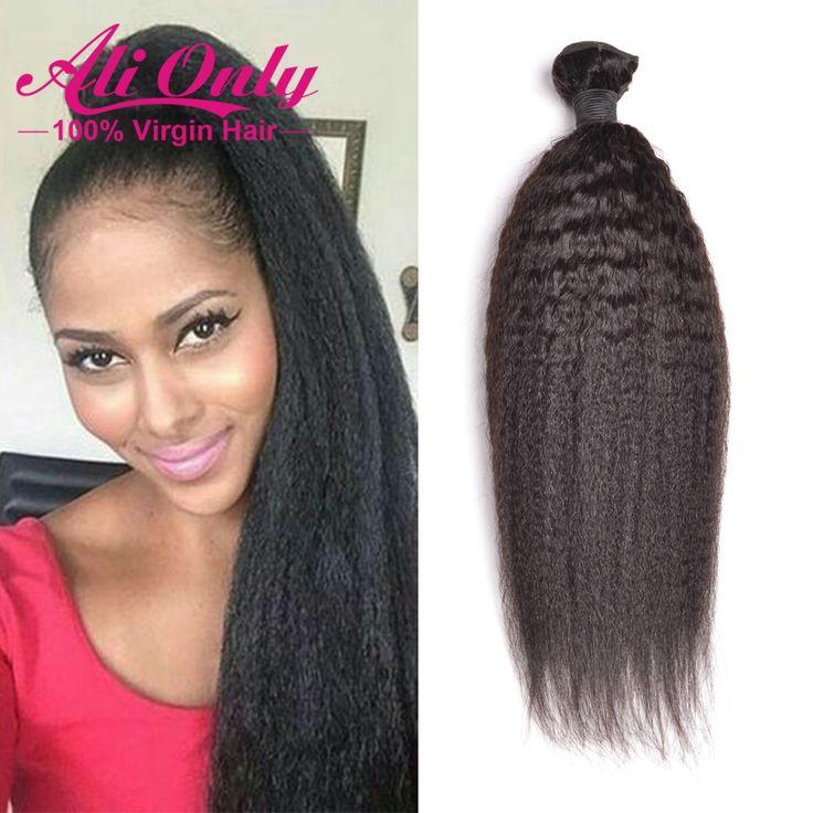 $92.00 (Buy here: https://alitems.com/g/1e8d114494ebda23ff8b16525dc3e8/?i=5&ulp=https%3A%2F%2Fwww.aliexpress.com%2Fitem%2FBrazilian-Kinky-Straight-Hair-Weave-4-Bundles-8A-Unprocessed-Brazilian-Virgin-Hair-Kinky-Straight-Alionly-Afro%2F32704140543.html ) Brazilian Kinky Straight Hair Weave 4 Bundles 8A Unprocessed Brazilian Virgin Hair Kinky Straight Alionly Afro Kinky Human Hair for just $92.00