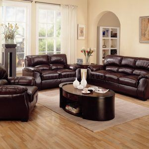 Living Room Pictures With Brown Leather Furniture