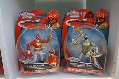 Power Rangers Super Megaforce Booth