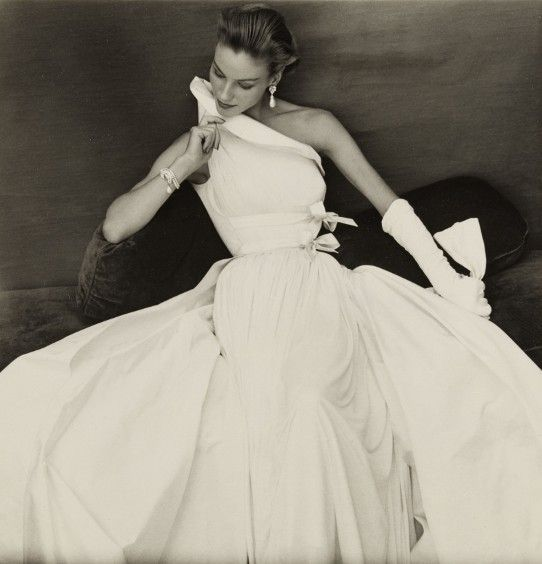 not sure if this is a wedding dress... but i'd love for it to be!    Dress by Madame Grès,1954  Photographer: Henry Clarke