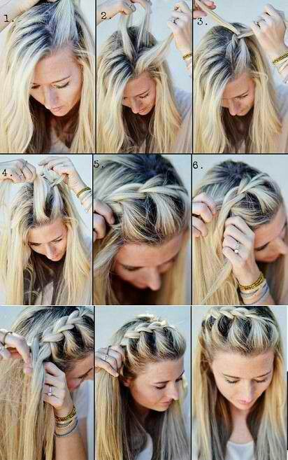 Quick Hairstyles For School 351 Best Coiffure Images On Pinterest  Hair Cut Hair Dos And Hairdos