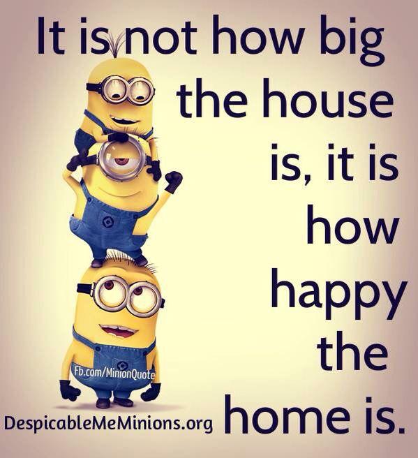 Home the minion way