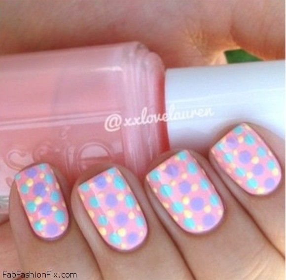 Nice Nail Art Simple Easy Designs Big Tutorial Nail Art Simple Square Starry Night Nail Art Cute Nail Art Easy Old Toe Fungus Nail Polish ColouredHot Design Nail Polish 1000  Images About Pastel Color Nails On Pinterest