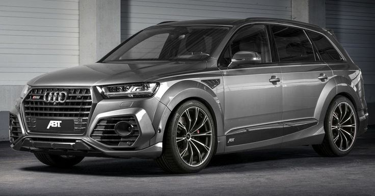 New Audi SQ7 Gets The Works From ABT With 520 Horses #ABT #Audi