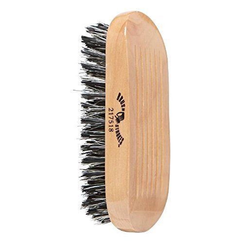 Brush Strokes Military Style Boar Bristle Brush Review