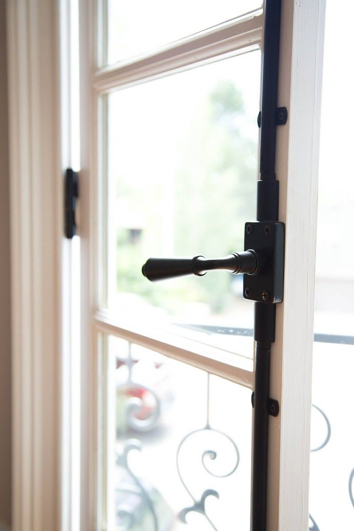 Home Remodel Custom Home Building French Doors Fancy Black Hardware  #KitchenRemodeler #CustomHomeBuilder #BathroomRemodeler #TileContractor  Baer's Home Concepts - Google+ 8028 Chasewood Loop Colorado Springs, CO. 80908 (719) 439-5420 http://baerhc.com/  The Colorado Springs Area has been experiencing a rich and thriving real estate and home building market for the last 20+ years.