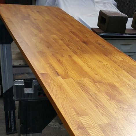 A Beautiful Countertop Finished With Waterlox By Our Customer Brandon. Www. Waterlox.com