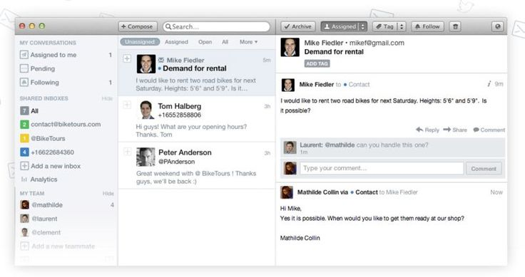 The Front App Lets Others Help You Tackle an Overwhelming Inbox #multimedia #tech trendhunter.com