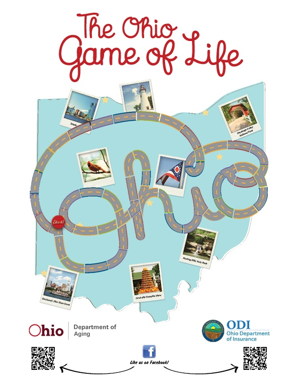 Game of Life board featured at the 2012 Ohio State Fair