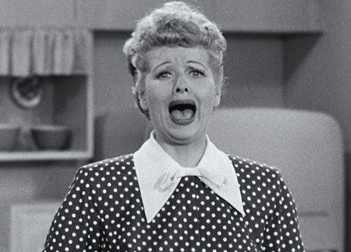 Wahhhhhhhhhh I Love Lucy Pinterest Lucille Ball
