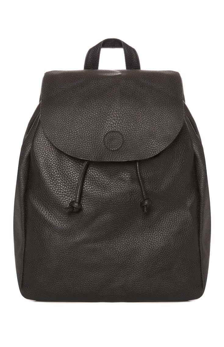 Primark - Black Tie Backpack