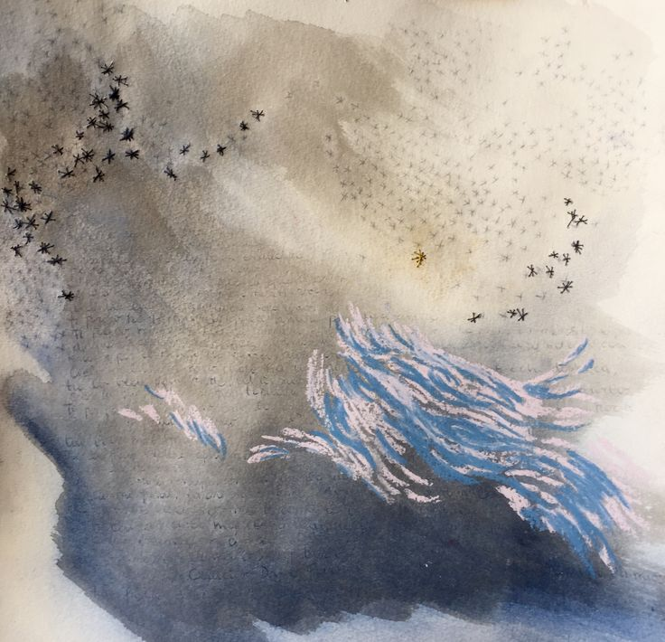 Drawing (mixed media, etching on paper) | by Beatrice Zagato